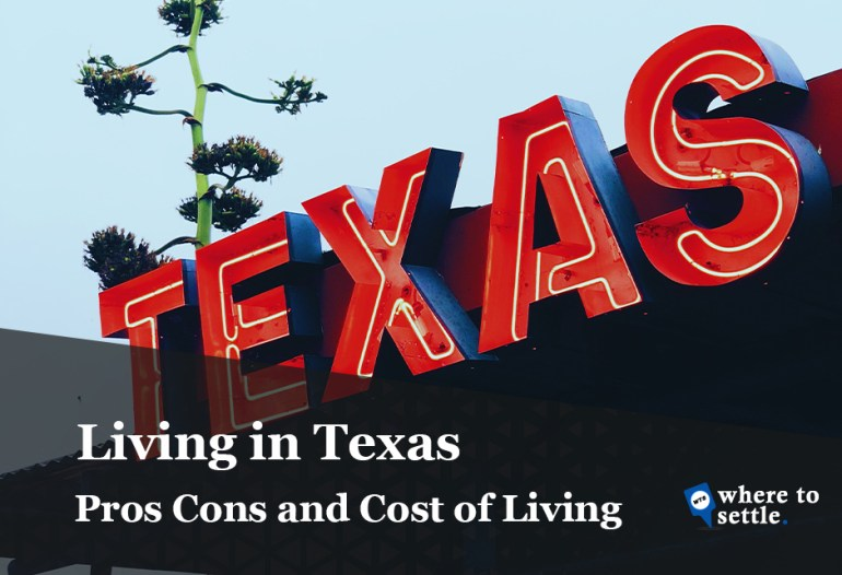 Living in Texas - Cost of Living in Texas
