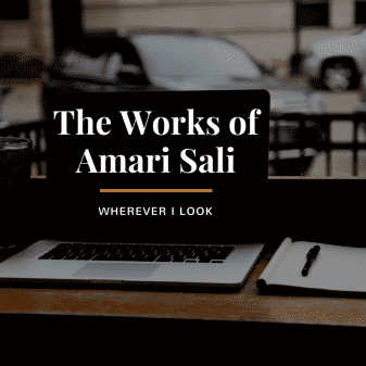 The Works of Amari Sali