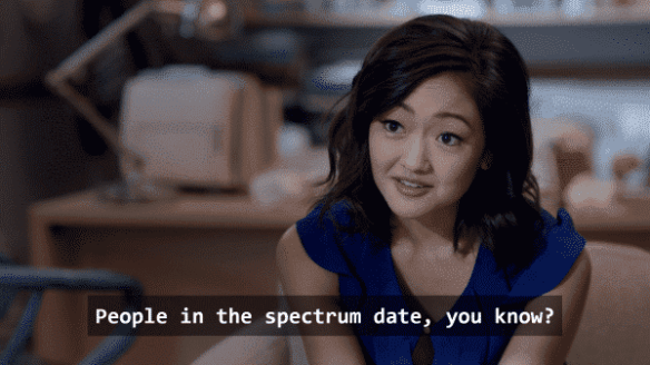 Julia (Amy Okuda) in Atypical