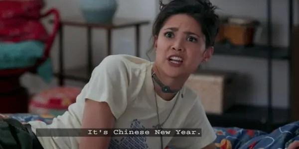 Andi Mack Season 2 Episode 2 Chinese New Year - Bex
