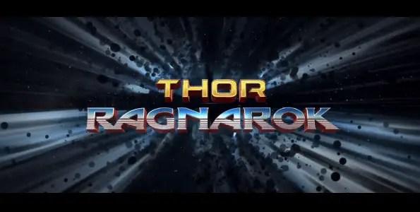 Thor Ragnarok - Title Card