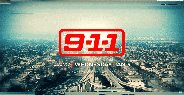 9-1-1 Season 1 Episode 1 Pilot [Series Premiere] - Title Card