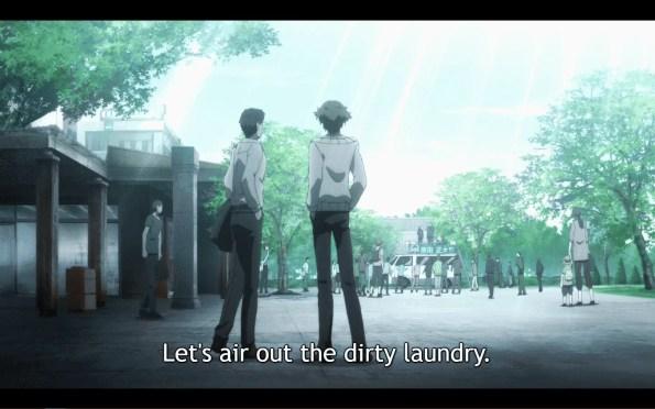 Hakata Tonkotsu Ramens Season 1 Episode 1 Play Ball [Series Premiere] - Banba with associate Shigematsu