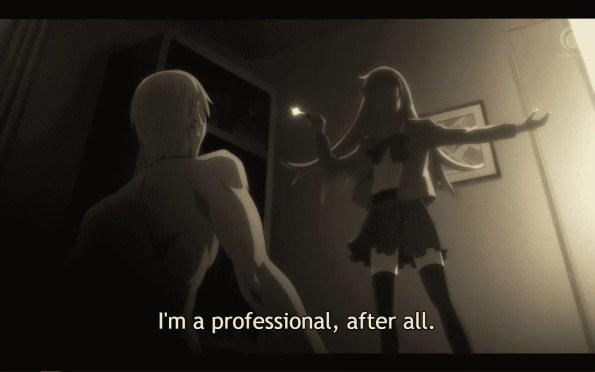 Hakata Tonkotsu Ramens Season 1 Episode 1 Play Ball [Series Premiere] - Ling before killing someone.