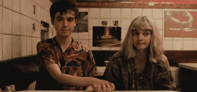 James and Alyssa holding hands
