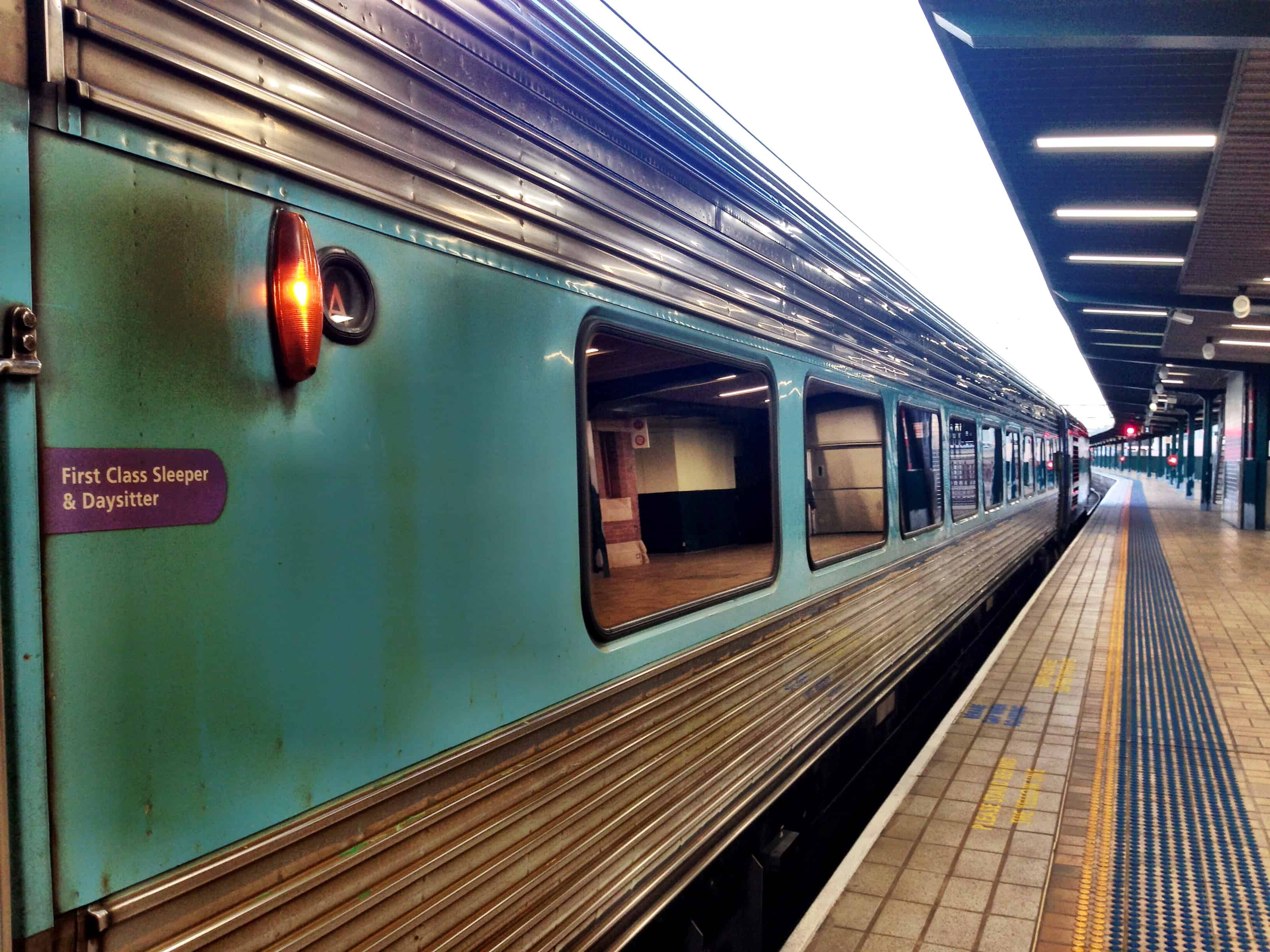 Slow train to Melbourne