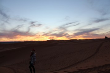 Sunset in Sahara - Before
