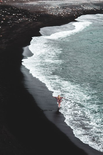 Black Sand Beach - After