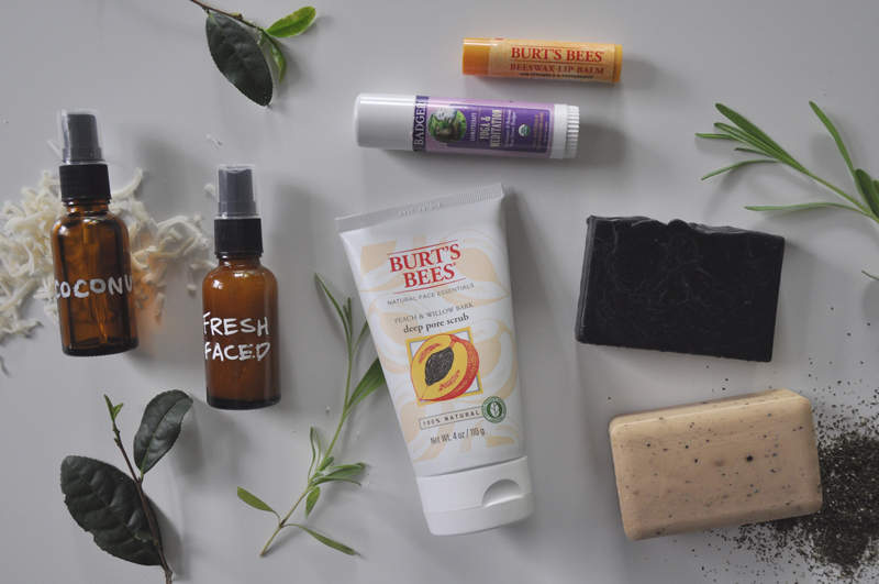 Best-Natural-Bath-Products-Burts-Bees-Peach-Willow-Deep-Pore-Scrub--Burts-Bees-Beeswax-Peppermint-Lip-Balm