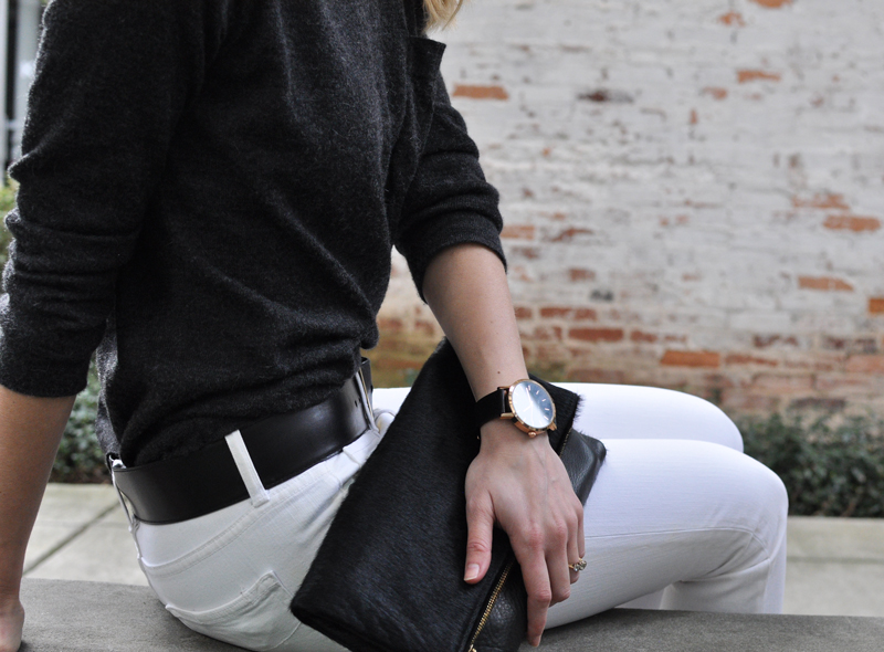 Zady-06-Charcoal-Lightweight-Alpaca-Sweater-Review-Size-Fit-Information-Small---Ceri-Hoover-Raven-Calf-Hair-Currey-Foldover-Clutch-Crossbody