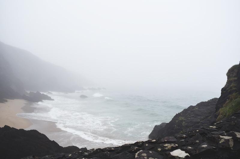 View-over-shore-seaside-coast-of-Dingle-Ireland-Wild-Atlantic-Way