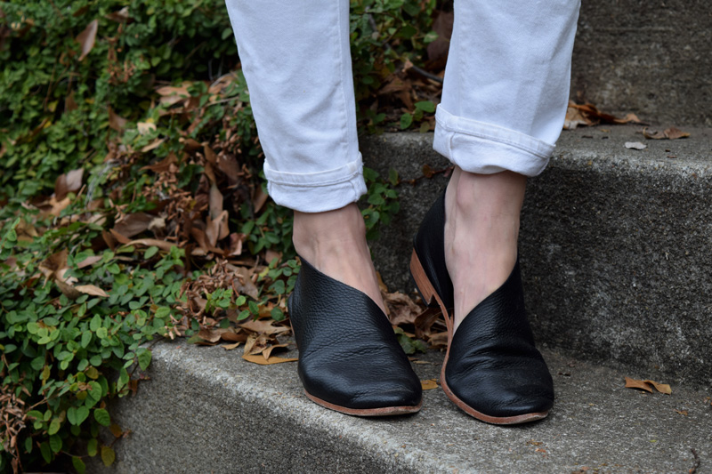 sevilla-smith-sandy-dorsay-flats-review-black-pebble-leather-etsy-handlasted-philadelphia