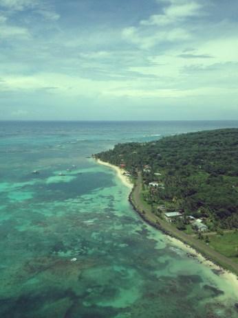 Bird eye view Little Corn Island - Where you go next