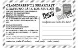 GRANDPARENTS BREAKFAST | DESAYUNO PARA LOS ABUELOS
