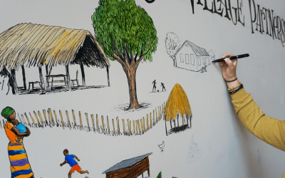 Mural Tells The Story of Kenenday Village