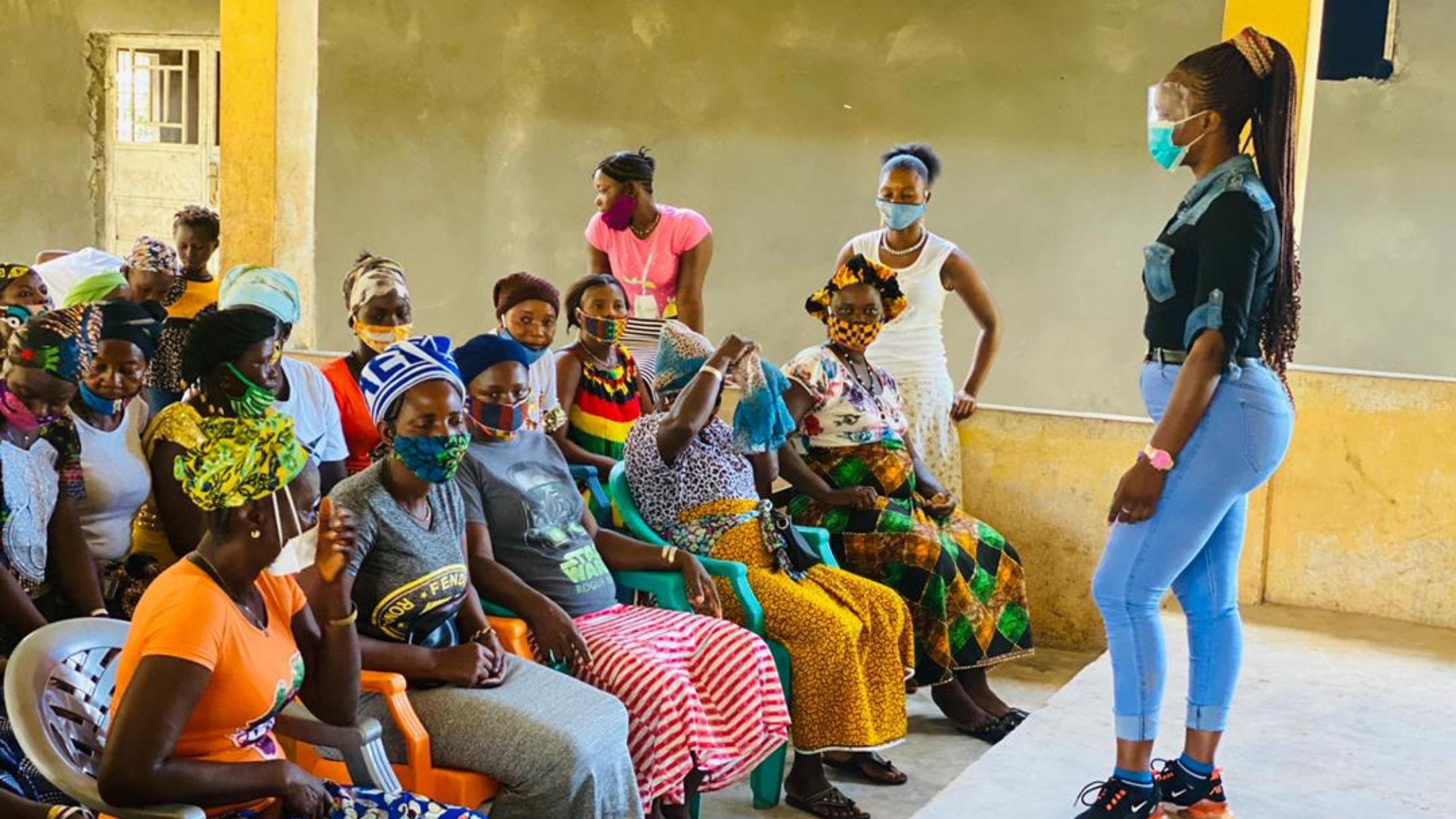 Gender Equality Class in Sierra Leone