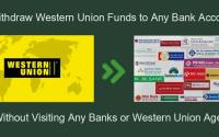 Western Union Funds to Bank Account