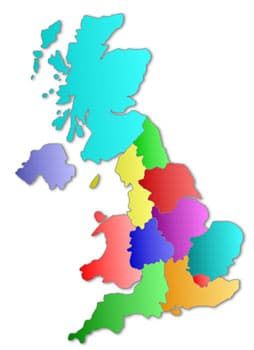 Map of UK Rehabs