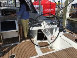 Jeanneau 57 Starboard Helm