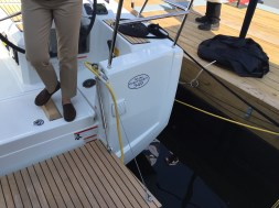 Jeanneau Sun Odyssey 349 Stern Quarter