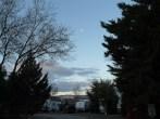 Snowy view from Prescott campsite.