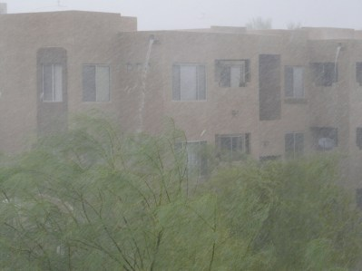 Monsoon rain AZ