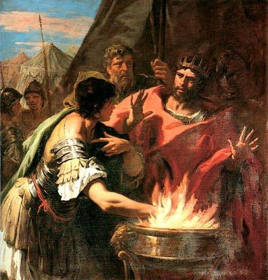 Word of the Day: Mettere la mano sul fuoco – Which Way to Rome