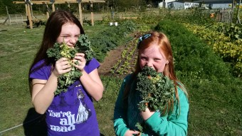 kale eating fifth grade IMG_20150916_105552269