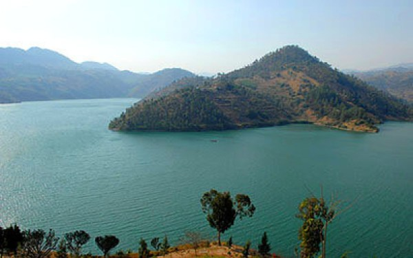 View of Lake Kivu