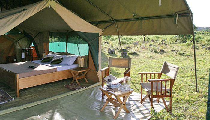 mid-range accommodation in serengeti