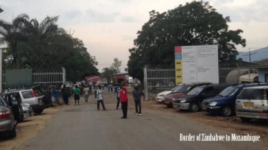 Border of Zimbabwe to Machipanda, Mozambique border