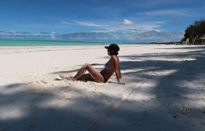Erika in Zanzibar - whileinafrica