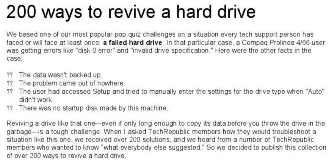 200 Ways to Revive a Hard Drive pdf