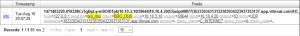 DNS log information