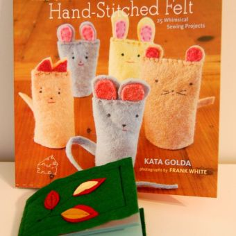 Book Review Part 2: Hand-Stitched Felt by Kata Golda