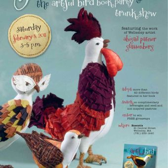 The Artful Bird Book Launch and Trunk Show