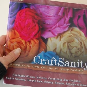 CraftSanity Magazine is out!