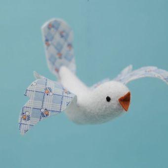 Bird in Flight: A Free Pattern and Tutorial
