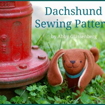 Darcy the Dachshund Pattern