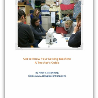 Grow Your Handmade Business: Teach Sewing in Your Community