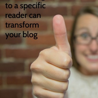 How Writing to a Specific Reader Will Transform Your Craft Blog