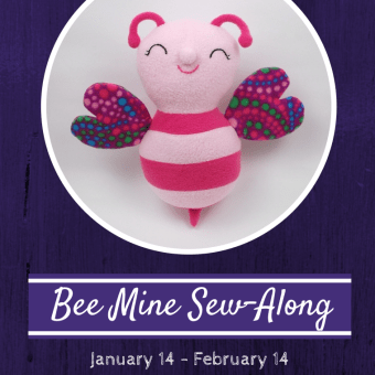 Bee Mine Sew-Along Begins Today!