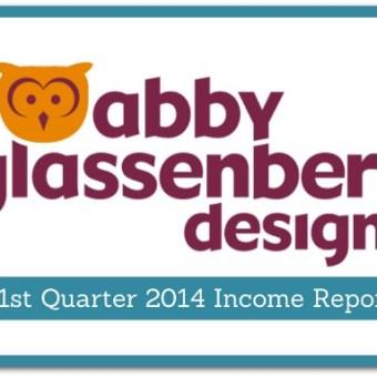 Abby Glassenberg Design 1st Quarter Income Report