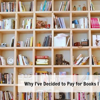 Why I've Decided to Pay for Books I Review