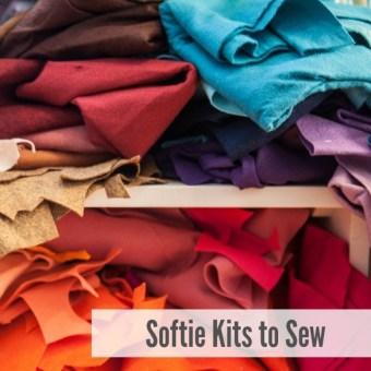 Softie Kits to Sew: A Round Up