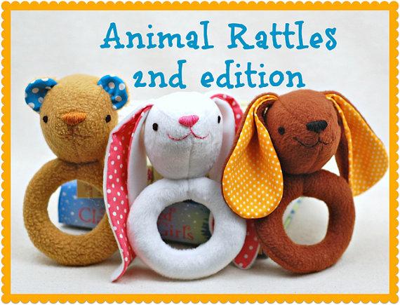 Animal Rattles 2nd Edition