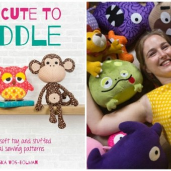 Book Review: Sew Cute to Cuddle by Mariska Vos-Bolman