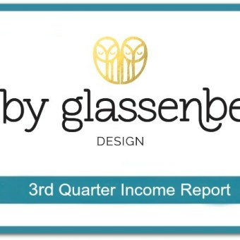 Abby Glassenberg Design 3rd Quarter Income Report