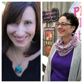 Podcast Episode #32: Kathy Mack of Pink Chalk Studio and Kristin Link of Sew Mama Sew
