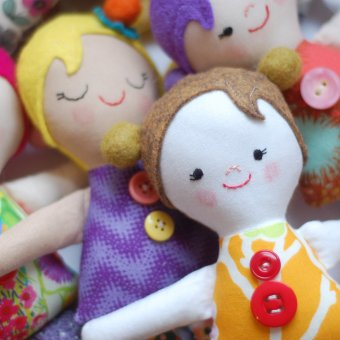 Free Pattern: The Josephine Doll